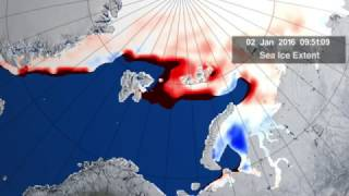 Download Cyclone Powered By Warm Winter Causes 'Size of Florida' Arctic Ice Melt | Video Video