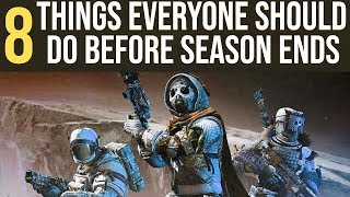 Download 8 Things You Should Do Before Season of Undying Ends: Destiny 2 Shadowkeep Video