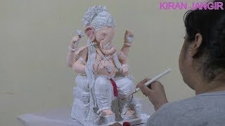 Download Sculpting Ganesha in water based clay (Shadu Mati) Time lapse Video