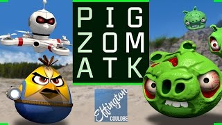 Download Pig Zombie Attack - Angry Birds Parody Video