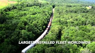 Download EMD SD70ACe Locomotives on the Arkansas & Missouri Railroad Video