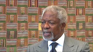 Download Short edit of Kofi Annan, Nobel Prize Laureate and Former UN SG - Voices on Social Justice Video