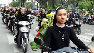 Download Tuyệt Đẹp Đoàn Rước Của Các Sơ Dòng Mến Thánh Giá Xuân Lộc Cung Nghinh Đức Mẹ Fatima Thánh Du Video