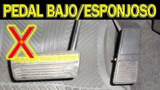 Download Causas de pedal de freno bajo o esponjoso (cambio de cilindro maestro, diagnostico) Video