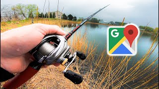 Download Google Maps Fishing Challenge — Finding HIDDEN Ponds Loaded w/ Fish Video