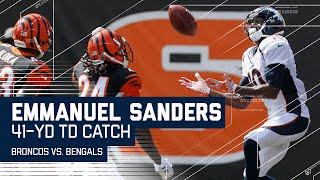 Download Emmanuel Sanders' Long TD Catch After Adam Jones' Fumble! | Broncos vs. Bengals | NFL Video