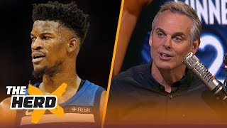 Download Colin Cowherd thinks less of Jimmy Butler today | NBA | THE HERD Video