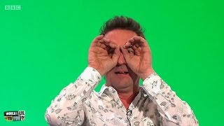 Download Did Lee Mack once read an entire book through a set of binoculars? - Would I Lie to You? [HD][CC] Video