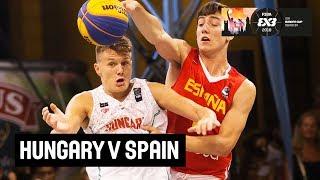Download Hungary v Spain - Semi-Final - Full Game - FIBA 3x3 U18 Europe Cup 2018 Video
