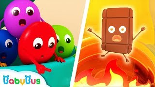 Download Colorful Candies Rescue Team | Color Songs | Learn Colors | Kids Cartoon | Nursery Rhymes | BabyBus Video