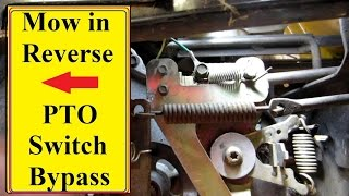 Download Mower PTO Reverse switch Bypass Video