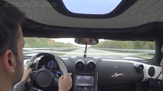 Download Autobahn runs Koenigsegg Agera R 340+ km/h (215+ mph) casual driving towards the testtrack Video