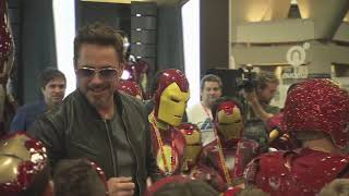 Download Robert Downey Jr. Crashes a Kid's Iron Man Costume Contest at Comic-Con 2012 Video