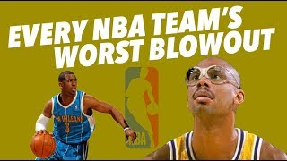 Download EVERY NBA TEAM'S WORST BLOW OUT LOSS - Crazy Stats and Pure Sadness Video