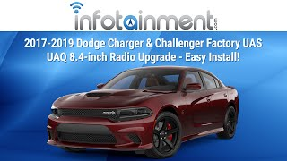 Download 2017-2019 Dodge Charger & Challenger Factory UAS UAQ 8.4-inch Radio Upgrade - Easy Install! Video