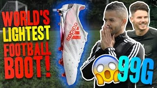 Download THE WORLD'S LIGHTEST FOOTBALL BOOT! Video
