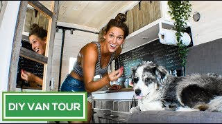 Download BEAUTIFUL Rustic DIY Sprinter Conversion | Van Life Pinterest Dream | VAN TOUR Video