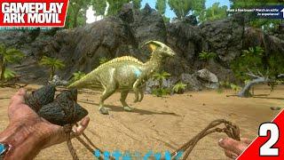 Download Ark Móvil    Tameando el primer dino #2   Ark: Survival Envolved Mobile Video