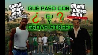 Download LO QUE PASO CON CJ Y GROVE STREET FAMILIES DESPUÉS DE GTA SAN ANDREAS Video