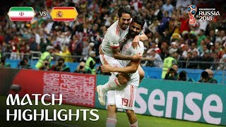 Download IR Iran v Spain - 2018 FIFA World Cup Russia™ - Match 20 Video