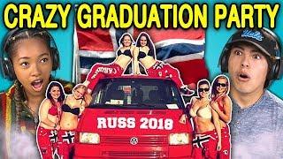 Download TEENS REACT TO CRAZY NORWAY HIGH SCHOOL GRADUATION PARTIES (Russefeiring) Video