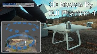 Download Creating 3D Model with Phantom 4, Photogrammetry Mapping. Agisoft PhotoScan Video