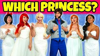 Download SHOULD ELSA OR ANNA MARRY HANS? (Or Should Ariel, Jasmine or Snow White) Totally TV Pretend Play Video