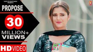 Download Propose   Amit Dhull   Anjali Raghav   Latest Haryanvi Songs Haryanavi 2018   Most Popular DJ Songs Video