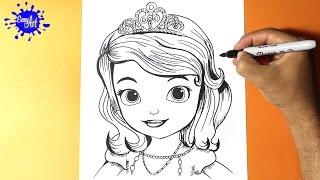 Download Como Dibujar la Princesita Sofia l How to Draw the Princess Sofia - Como Dibujar una Princesa Video