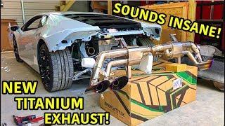 Download Rebuilding A Wrecked Lamborghini Huracan Part 23 Video