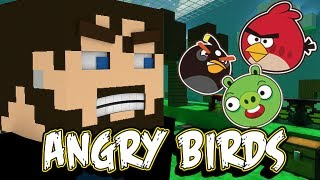 Download Minecraft Angry Birds - Pigs Don't Stand a Chance! Video