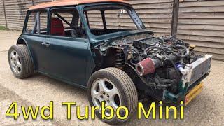 Download Project Mubaru 4wd Turbo Mini - Ep54 - First Drive !! Video