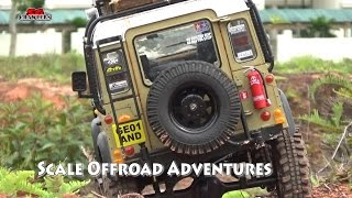 Download Scale Trucks Offroad Adventures RC Land Rover Defender Jeep Wrangler Toyota Hilux RC4WD Video