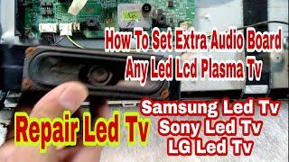 SAMSUNG CRT TV Have Picture No Sound | Repair Tv | DIY repair tv
