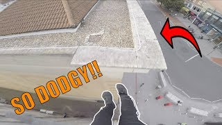 Download SKETCHY PARKOUR ROOFTOP RUN! Video