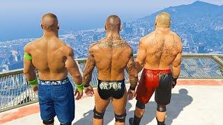 Download GTA 5 Randy Orton John Cena Compilation #3 (GTA 5 WWE Fails Funny Moments) Video