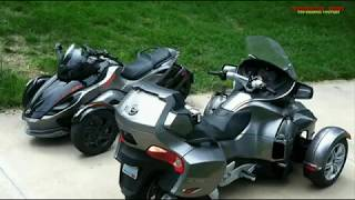Download Motorcycle, 2018 Updates to the Can-Am Spyder!! Video
