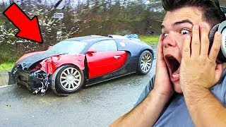 Download REACTING TO SUPER CAR CRASHES (INSANE) Video