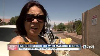 Download Mailboxes thief strikes in east Las Vegas Video