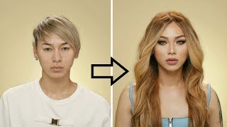 Download Guy to Girl Makeup Transformation !!! Video