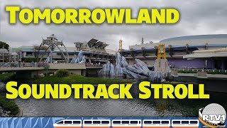 Download Tomorrowland Soundtrack Stroll at Disney's Magic Kingdom - Walt Disney World Video