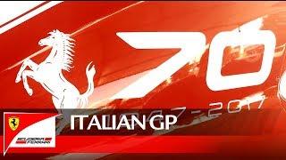 Download Italian Grand Prix - Scuderia Ferrari Tribute to Ferrari 70 Anniversary Video