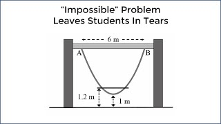 Download ″Impossible″ Math Problem Leaves 15 Year Olds In Tears - New Zealand (Parabola Question) Video