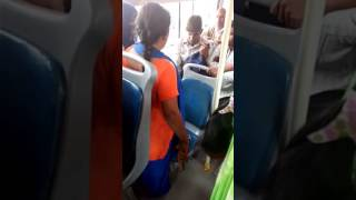 Download Fight in cluster bus Video