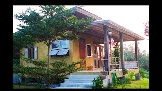 Download บ้านผนังปูนเปลือยหลังเล็ก เรียบเท่ร่วมสมัย มีระเบียงชมวิวทุ่งนา Video