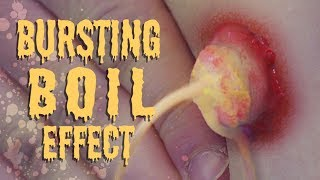 Download Bursting Boil: Practical Special Effects Tutorial Video