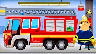 Download Fire Engine & Firefighters - Game Cartoon For Children - FIRE TRUCK FOR KIDS : Little Fire Station Video