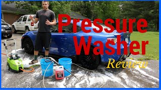 Download Best Pressure Washer for Washing Cars - GreenWorks Pressure Washer Video