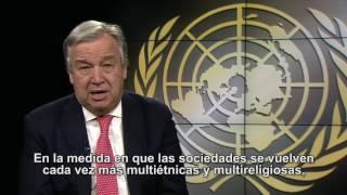Download Guterres: JUNTOS contra la intolerancia, la discriminación y el odio hacia los musulmanes Video