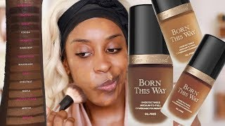 Download How To SHADE MATCH Born This Way Foundation! Tips + DEMO | Jackie Aina Video